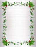 dekorativ kantjuljärnek vektor illustrationer