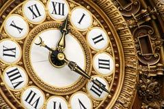 dekorativ klocka Arkivfoton