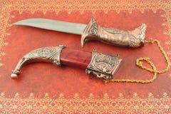 dekorativ kniv Arkivbilder