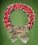dekorativ kran för jul Arkivbilder