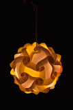 dekorativ lampa Royaltyfri Foto