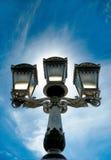 dekorativ lampagata Royaltyfri Foto