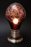 dekorativ lamplampa för kula Arkivfoton