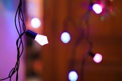 dekorativ lighting Royaltyfri Foto