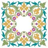 Dekorativ lyxig ram Arkivbild