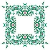 Dekorativ lyxig ram Fotografering för Bildbyråer