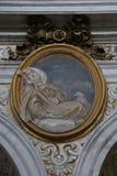 Dekorativ målning i Rome Royaltyfria Foton