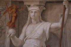 Dekorativ målning i Rome Royaltyfri Foto
