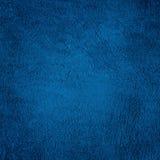Dekorativ marinblå bakgrund för abstrakt Grunge Royaltyfria Bilder