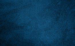 Dekorativ marinblå bakgrund för abstrakt Grunge Royaltyfri Bild