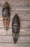 Dekorativ maskering av afrikanskt stam- Royaltyfri Bild