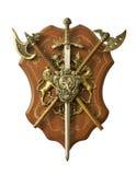 dekorativ medeltida prydnad Arkivbild