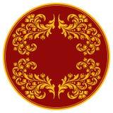 dekorativ modell för cirkel Royaltyfri Foto