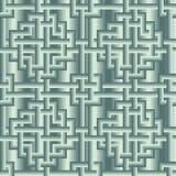 Dekorativ modell. Sömlös vektor Arkivbild