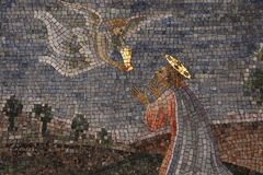 Dekorativ mosaik royaltyfri foto
