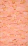 Dekorativ murbruk på väggen, abstrakt bakgrund, efterföljd av tegelstenar Royaltyfri Fotografi