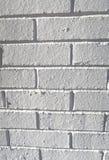 Dekorativ murbruktegelstenvägg Royaltyfri Fotografi