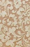 Dekorativ murbruktextur, dekorativ vägg, stuckaturtextur, dekorativ stuckatur Arkivbild