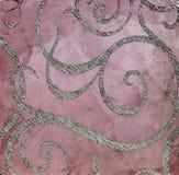 Dekorativ murbruktextur, dekorativ vägg, stuckaturtextur, dekorativ stuckatur Fotografering för Bildbyråer