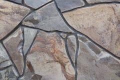 dekorativ naturlig sten Royaltyfri Fotografi