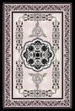 dekorativ orientalisk filt Arkivbild