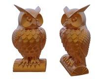 Dekorativ owlillustration Arkivbild