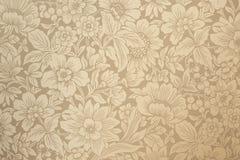 Dekorativ panelsikt med blommor Royaltyfri Fotografi
