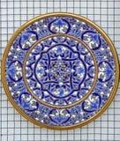 dekorativ platta Fotografering för Bildbyråer