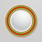 dekorativ platta Royaltyfria Bilder