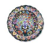 dekorativ platta Arkivbilder