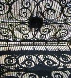 dekorativ port Arkivbild