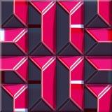 dekorativ präglad mönstrad seamless textur Arkivfoton