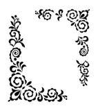dekorativ prydnad royaltyfri illustrationer