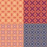 dekorativ prydnad vektor illustrationer