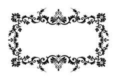 dekorativ prydnad för kant Royaltyfri Bild