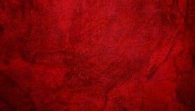 Dekorativ röd bakgrund för abstrakt Grunge arkivbilder