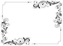 dekorativ ram Arkivbild