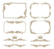 dekorativ ram Royaltyfri Fotografi