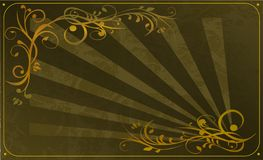 dekorativ ram Royaltyfria Bilder