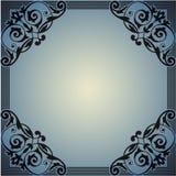 Dekorativ ram i stilen av tappning Royaltyfria Bilder