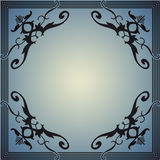 Dekorativ ram i stilen av tappning Royaltyfri Bild