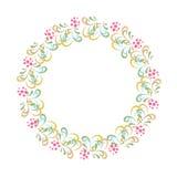Dekorativ ram med bär Royaltyfria Foton