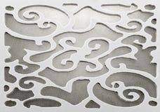 Dekorativ ram som ut klipps Arkivbilder