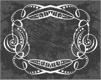 dekorativ rammodell arkivbild