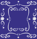 dekorativ ramvektor Arkivfoton