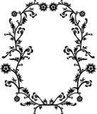 dekorativ ramvektor royaltyfri illustrationer