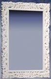 dekorativ ramwhite royaltyfria foton