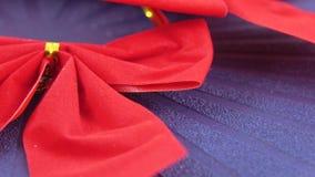 dekorativ red för bow arkivfilmer