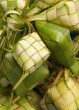 dekorativ rice för packecake Arkivfoto