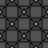 Dekorativ sömlös linje modell Arkivfoto
